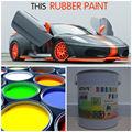 rápido en seco 4 peelable litros de pintura de caucho para los coches