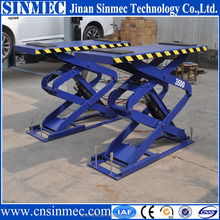 Professional supply automobile hydraulic car lifts/mechanical scissor lift table china with 2 years warranty