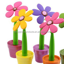 Hot New Products For 2015 Flower Shaped Pen FLower Pen With Case