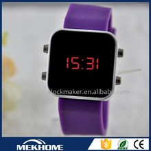 2015 Fashion adorn watch programmable digital watch, Silicone Unisex LED Watches