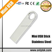 Free Laser Engraving logo Mini USB, Most Portable Metal Mini USB Flash Drives