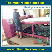 Large format jersey roller sublimation heat transfer machine