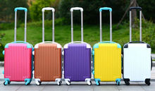 ABS+PC 3 pcs eminent aircraft airplane airport 2 zippers travel waterproof plastic rigid super light ultra light suitcase set