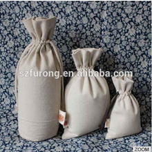 Vendedor caliente plegable cutton yute regalo bolsa para las niñas de compras