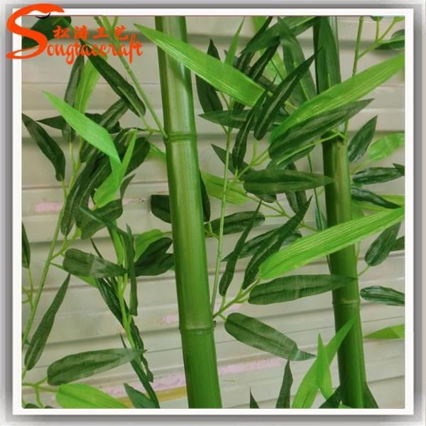 Usine pas cher prix artificielle bambou arbre personnalis for Bambou en plastique