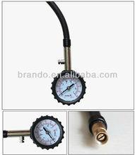 neumático calibrador de presión se utiliza normalmente en vehículo privado