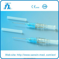 Medical Sterile I V catheter with injection valve model