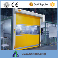 industrial fast action door intended for both indoor and outdoor applications