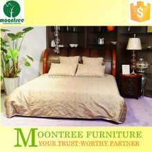 MBD-1104 Top Quality Crocodile Leather King Bed
