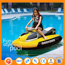 Top quality PVC material high speed electric inflatable jet ski