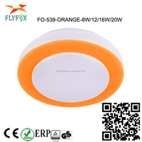led plafond Plafoniera LED orange ceiling plafond TUV GS CE ROHS