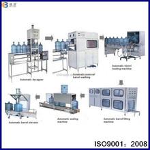 Automatic 5 gallon water filling machine, PC barrel drink water filling machine, 5 gallon waer filling machine line