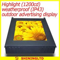 Hot offer lcd advertising signage with led countdown timer