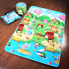 2015 color printed wholesale baby play mats