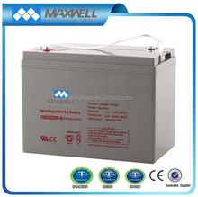 Deep cycle battery 6v 200Ah for solar system