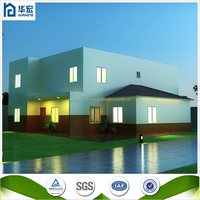 fast and easy constructional prefabricated house in philippines