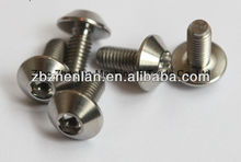 all of dimensions and colors DIN912 titanium bolts