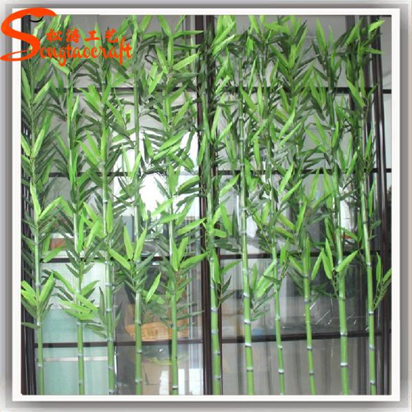 En plastique bambou p les en gros artificielle bambou p le for Bambou en plastique