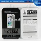 0.33 mm protetor de tela para iphone 6 plus, para o iphone 6 além de vidro temperado