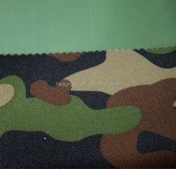 Camouflage Fabric Polyester Military Fabric PVC Backing
