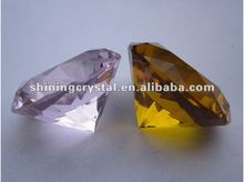 pink and brown crystal diamond wedding souvenir gift