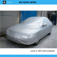 waterproof and insulated car cover/clear plastic car covers