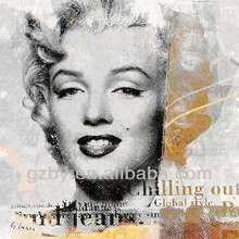 2014 Modern Marilyn Monroe Art Pictures for Wall Hanging Decoration