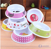 American Fashionable First Rate High Quality food grade Plastic Pet Bowl dog bowl cat bowl Bpa free