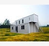 Economical Container Side fast assembling prefabricated house for sale