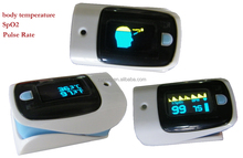 New Hot Selling OLED Display Fingertip Pulse Omimeter, Heart Rate Monitor, SpO2, Body Temperature