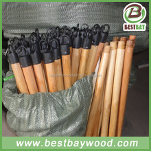 Varnish coated wooden stick,broom sticks