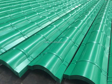 metal iron roofing tile/corrugated steel roofing sheet/ppgi steel sheet and ridges