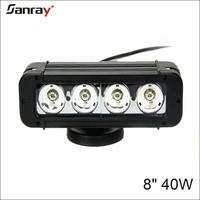 Factory supply long life span pc lens auto lighting hot 40w led truck light bar