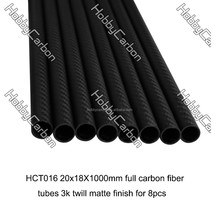new arrival high quality airplane RC helicopter wing carbon fiber tubes carbon bars