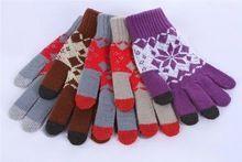 Unisex Winter work gloves mechanics Knit Gloves