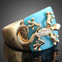 fashion gecko ring finger rings photos men's ring for men