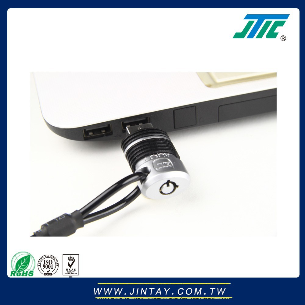 Security Cable Lock System : Security cable lock for usb port of laptop buy