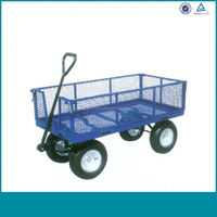 Moving Garden Cart With 4 Wheels China Dealer