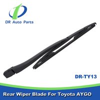 TY13 China online shopping For Toyota AYGO Rear Wiper Arm And Blade