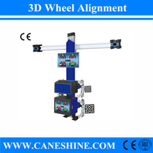 2015 Hot Sale High Quality CE&ISO Vehicle Equipment 3D Wheel Alignment Equipment Price for Garage(Automatic Lifting) CS-4067