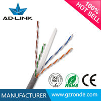 Twisted Quad Cable UTP Cat6 Network Cable 24AWG Shenzhen Hot Sale
