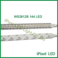 IP20 IP65 Addressable Flexible 144 WS2812b Led Strip