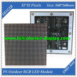 led p10 rgb display module p1.6 SMD RGB LED 16x96 dots led moving message sign board
