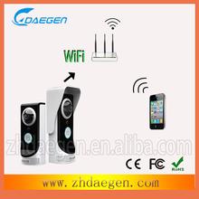 smart IP doorbell door video phone wifi wireless remote unlock door