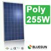Bluesun no antidumping charge poly 250w 255w solar panel for EU market