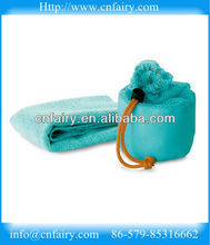 microfiber sports towel with lovely net bag packing