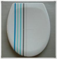 decorative Duroplast toilet seat cover
