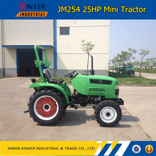 25HP 4wd Mini Farm Tractor With EPA PERKINS Engine