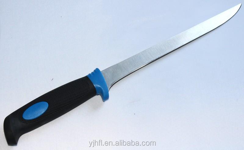 6pcs Fillet Knife Set With Board Knife Sharpner Fish Knivs