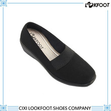 Cixi realible manufacturer hot sale women casual leather shoes made in china